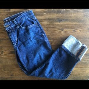 Joe's Jeans cropped skinny jeans with cuff
